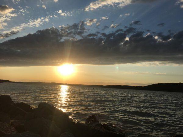 healing sun set meditation