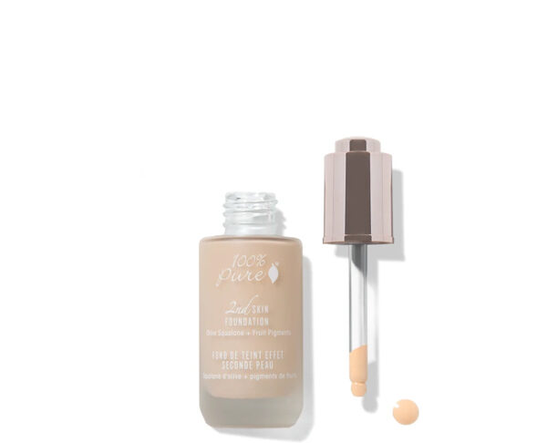 100percent pure 2nd skin foundation