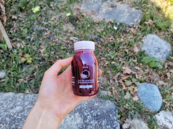 pomegranate juice muscle recovery